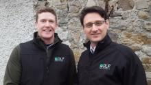 L-R Edward Power DLF Ireland Trials Manager Paul Flanagan DLF Ireland General Manager